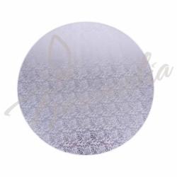 Подложка золото / серебро, круглая, утолщенный d 32 см