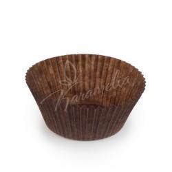 Формочки для кексов коричневые